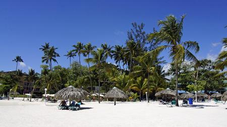 Caraïbisch strand van Baca chica Stockfoto - 27237293