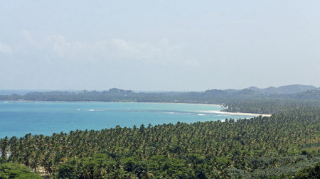 caribbean impression from national park los haitises