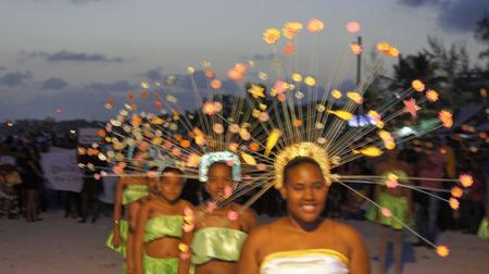 Karibisch karneval 2014, Boca Chica, Dominikanische Republik Standard-Bild - 27918444