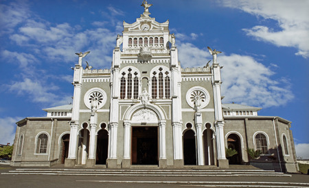 costa rica kerk in Heredia Stockfoto