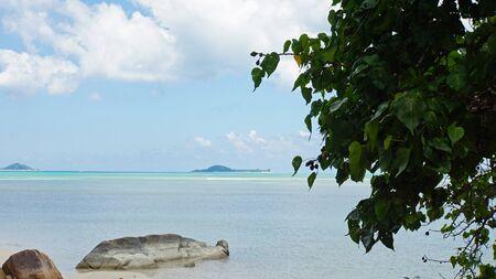 citron: tropical beach anse citron on praslin
