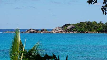lazio: anse lazio on praslin island Stock Photo