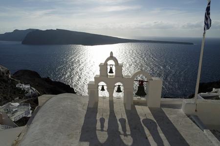 stone volcanic stones: Santorini in Greece Stock Photo