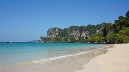 amazing nature paradise railey island in thailand Stock Photo