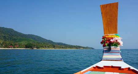 ko: green coast of ko lanta island in thailand Stock Photo