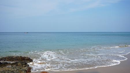 ko: natural beach on ko lanta in thailand