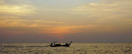 ko: sunset on sunset point near ko phi phi