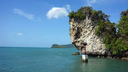 nang: tropical island near ao nang in thailand