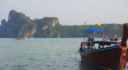 ko: lo dalum bay on ko phi phi Stock Photo