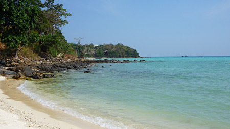 ko: amazing long beach on ko phi phi island