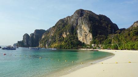 ko: amazing tonsai bay on ko phi phi Stock Photo