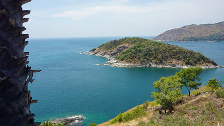 viewpoint: amazing landscape on viewpoint of phuket island