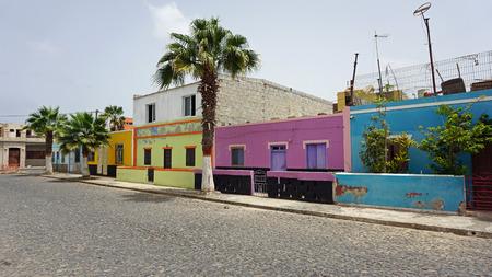 small fisher village palmeira on sal island