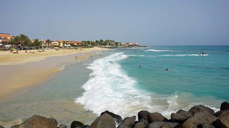 coastal region of santa maria Stock Photo