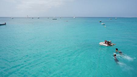 santa maria: coastal region of santa maria Stock Photo