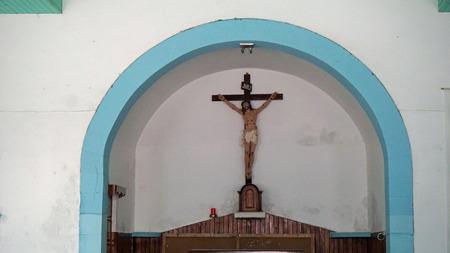 santa maria: small christian chapel in santa maria