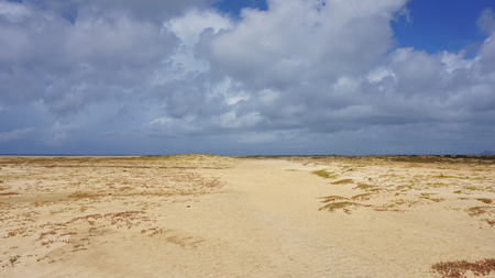 dunes: sand dunes of santa maria Stock Photo