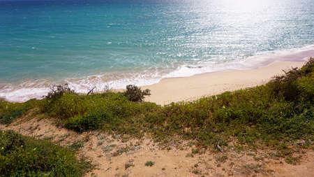 armacao de pera poente beach algarve Stock Photo