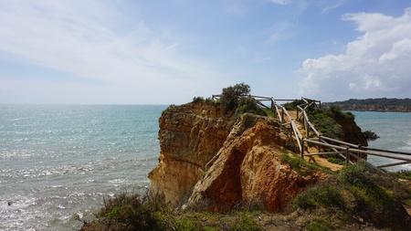 trail of portimao on the algarve coast