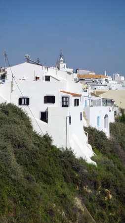 appartment houses in portugese town of albufeira