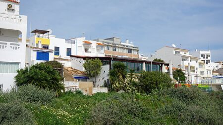 portugese: appartment houses in portugese town of albufeira
