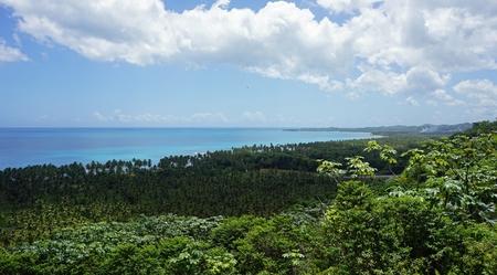 ドミニカ共和国の素晴らしい熱帯の風景
