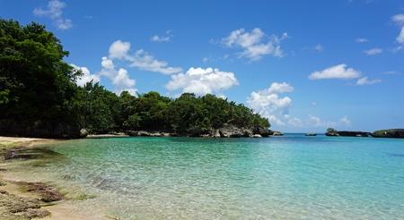 tropical playa enamorades in the dominican republic