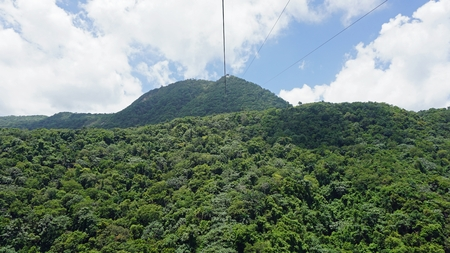 isabel: amazing cable car ride on pica isabel del torres in puerto plata