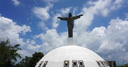 isabel: Statue of jesus christus in the Dominican republic