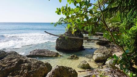caribbean playa grande beach ion the dominican republic Stock Photo