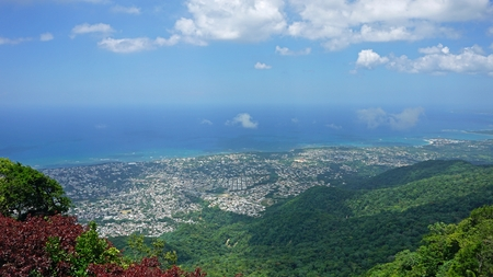 coast of puerto plata from pico de isabel del torres