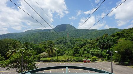 amazing cable car ride on pica isabel del torres in puerto plata