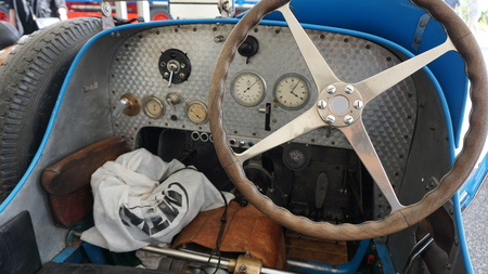 historisch oud voertuig Stockfoto