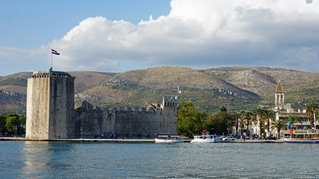 unesco heritage site trogir in croatia Editorial