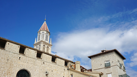 Heritage site church of Trogir Editorial