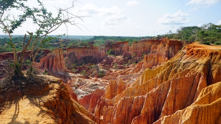 Hells Kitchen Canyon of Marafa in Keyna