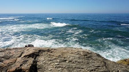 sao felix de marinha beach in autumn Standard-Bild - 114258418