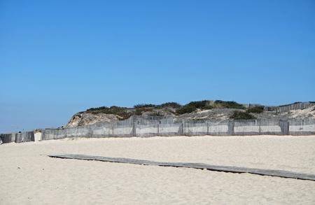 sao felix de marinha beach in autumn Standard-Bild - 114258365