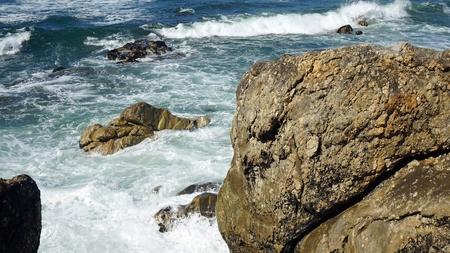 sao felix de marinha beach in autumn Standard-Bild - 114258376