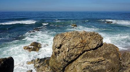 sao felix de marinha beach in autumn Standard-Bild - 114258392