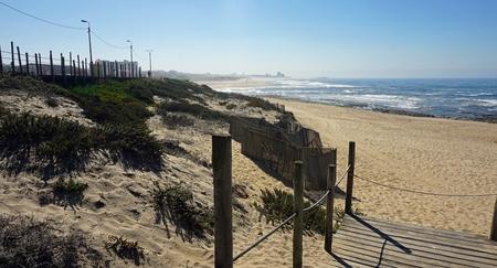 sao felix de marinha beach in autumn Standard-Bild - 114258325