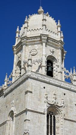 magnificent Jerónimos Monastery of belem near lisbon