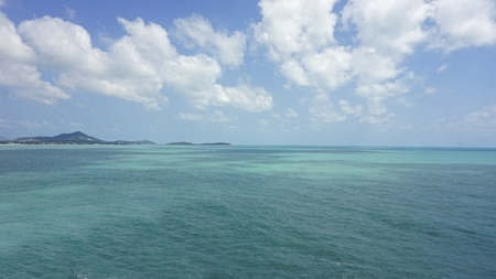 lad koh viewpoint on koh samui in thailand