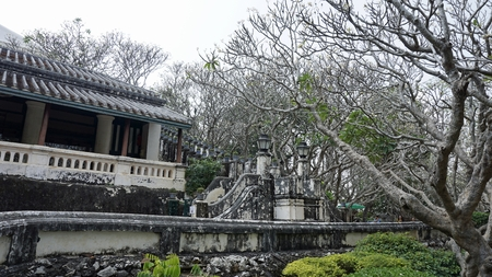 amazing phra nakon kiri tempel in thailand Standard-Bild - 120714373
