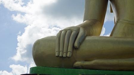 famous big buddha statue landmark in thailand Standard-Bild - 120714388