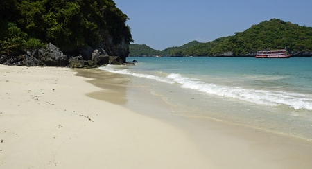 wua ta lap island in ang thong marine national park Standard-Bild - 120714534