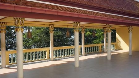 famous big buddha statue landmark in thailand Standard-Bild - 120714536