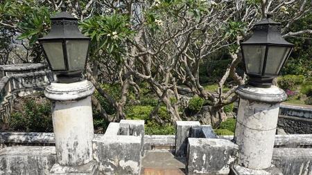 amazing phra nakon kiri tempel in thailand Standard-Bild - 120714586