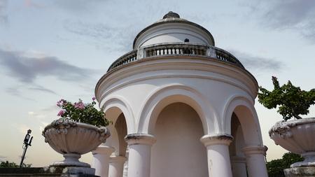 amazing phra nakon kiri tempel in thailand Standard-Bild - 120714589