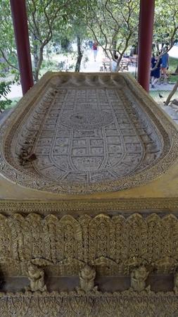 chinese plai laem temple on koh samui in thailand Standard-Bild - 120714597